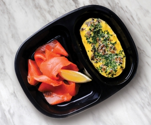 SS 2 Egg Omelette with smoked Salmon